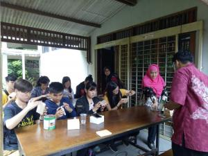 Kunjungan dari National Pingtung University of Science and Technology Taiwan ke DTHH Fahutan IPB